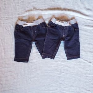 Baby jeans 3 month - twin matching set